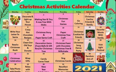 Christmas Activities Calendar
