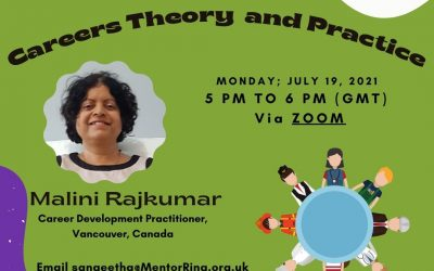 Career & Professional development July 19th 5 – 6pm On Zoom