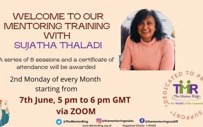 Mentoring Training Sessions Starting June 7th