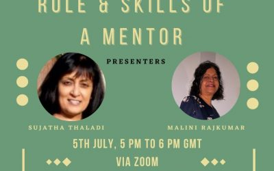 Mentoring Training Session June 7th 5 – 6pm