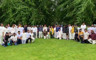 Cricket Match at Pontcanna Fields June 27th