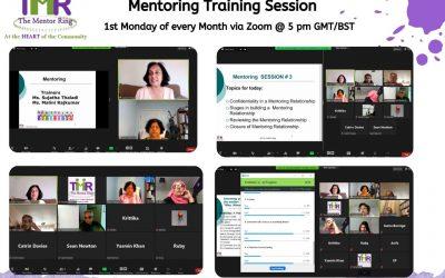 A Recap of Mentoring Training Sessions
