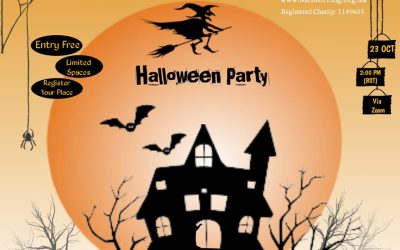 Trick or treat? Virtual Halloween Party!